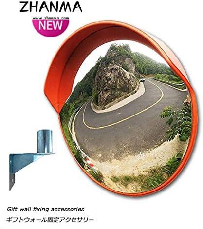カーブミラー 30センチメートル45センチメートル60センチメートル75センチメートル80センチメートル100センチメートル120センチメートル凸面鏡ラウンド交通道路の交差倉庫盲点安全ミラー RGJ4-10 (Size : 750mm)