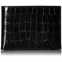 Cole Haan Men's Embossed Croco Removable-Passcase Wallet
