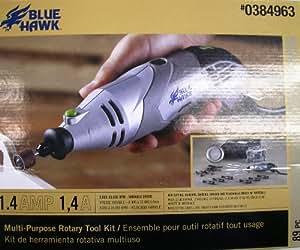 Blue Hawk 89 Piece Multi-Purpose Rotary Tool Kit