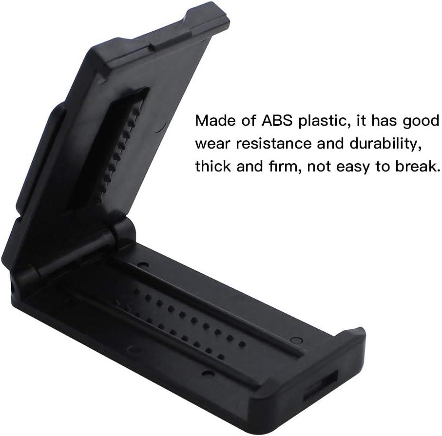 DXLing 4 Piezas Clips para Cintur/ón de Seguridad Ajustador de Cintur/ón de Seguridad para el Coche El/ástico Ajustable con Llave para relajar el Cuello del Hombro Negro