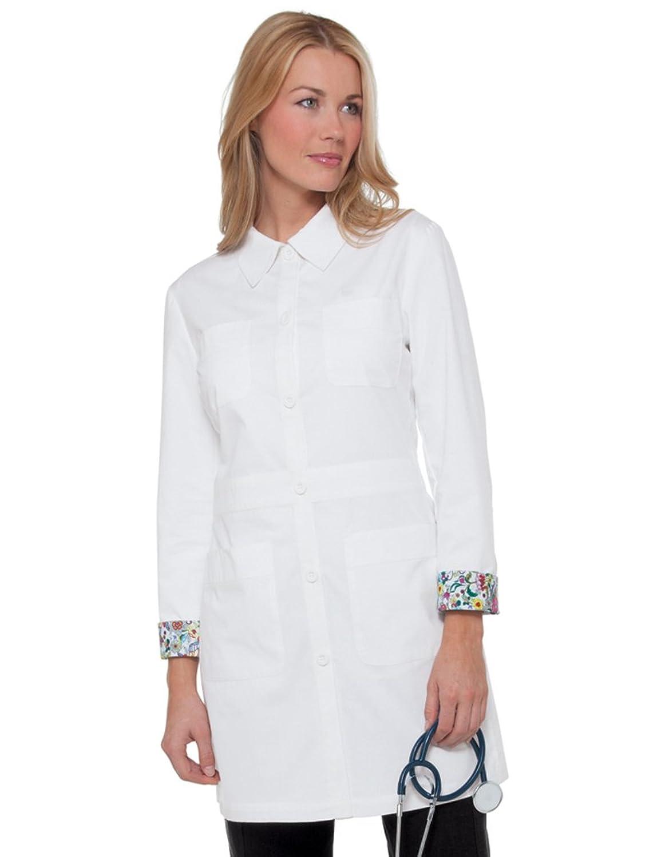 Amazon koi classics womens rebecca 34frac18 lab coat clothing jeuxipadfo Gallery