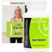 IdealShape, IdealProbiotic, Gut Health, Digestive Health, Weight Loss, Veggie Capsules, 30 Servings