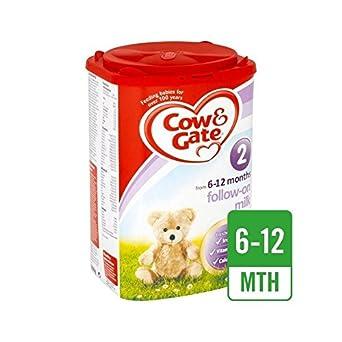 Cow & Gate 2 Folgen Auf Milchpulver 900G - Packung mit 4