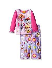 "Paw Patrol Little Girls' Toddler ""We Saved the Day!"" 2-Piece Pajamas"