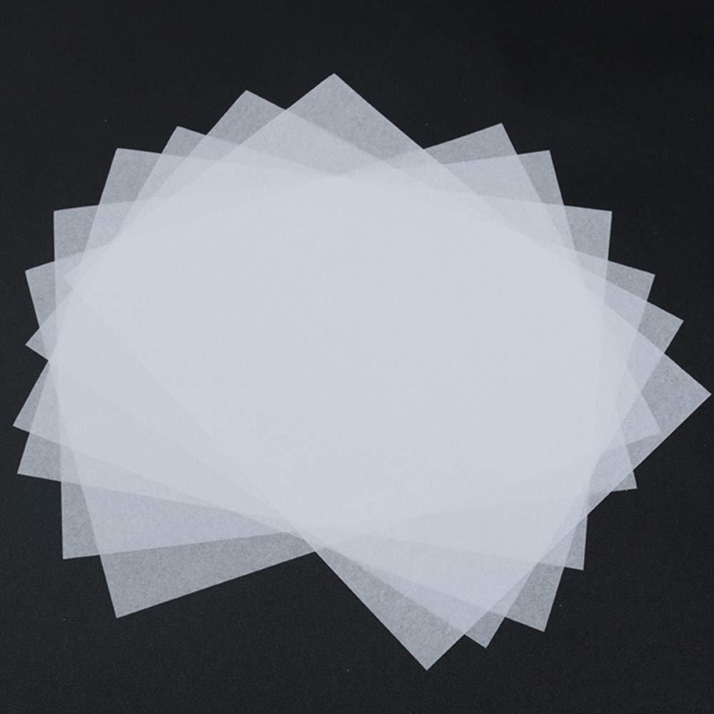 Nuluxi Lucida Trasparente Carta A4 Fogli da Lucido Carta Trasparente Trasparenti Fogli di Carta Trasferibile pu/ò Essere Utilizzata per Disegnare Fare Bricolage Dipingere Attivit/à Artistiche 100 Fogli