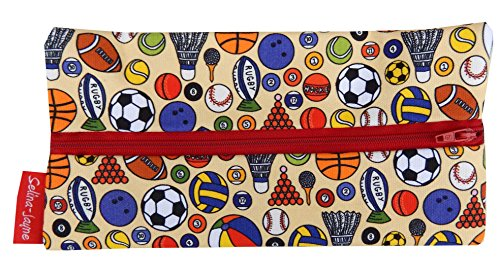 Selina-Jayne Sport Balls Limited Edition Designer Pencil Case