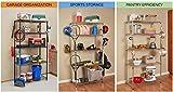 Shelf Pole Hooks 5-Pack | Utility Hanger Chrome