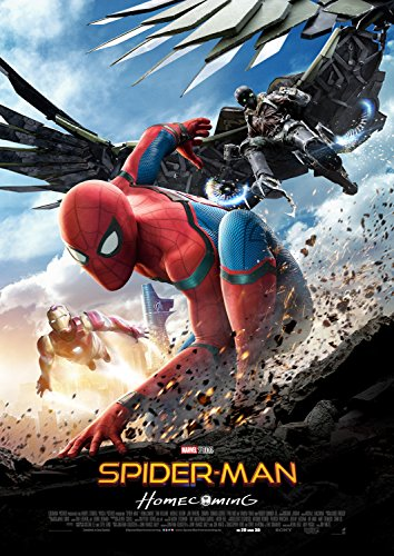 Spiderman Homecoming 27x40 Glossy Movie Poster