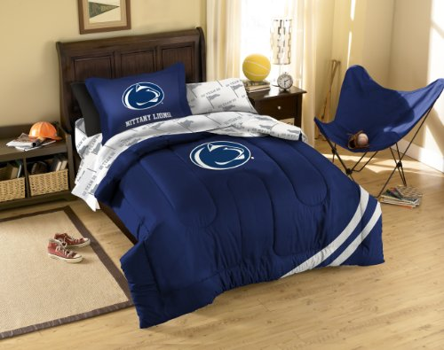 NCAA Penn State Nittany Lions Bedding Set, Twin