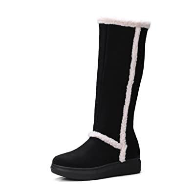 e9b6ed64b6 Image Unavailable. Image not available for. Color  Mavirs Womens Classic Tall  Winter Boot Fashion Snow ...