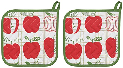 Now Designs Basic Potholders Apple
