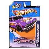 Hot Wheels - '71 Maverick Grabber - Purple - REDLINES - HW Racing '12 [9/10, 179/247]