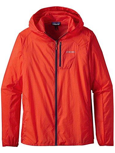伝染性陪審熱(パタゴニア)patagonia M's Houdini Jacket 24141 Paintbrush Red (PBH) XS