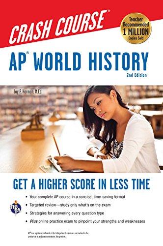 AP® World History Crash Course, 2nd Ed.,  Book + Online (Advanced Placement (AP) Crash Course)