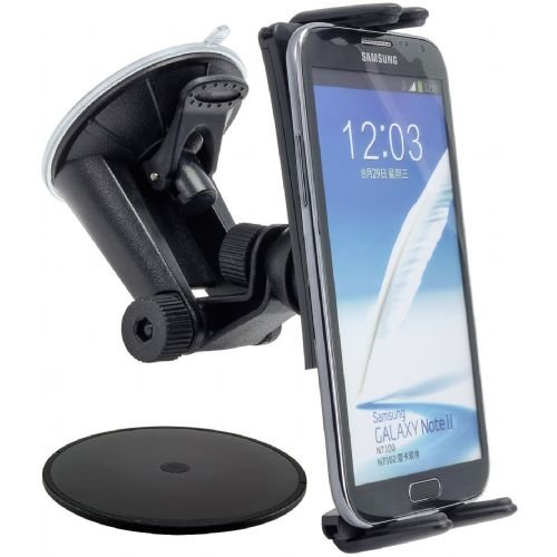 Vehicle Mount Cradle (High Grade Car Dash Mount or Windshield Vehicle Cradle Mount Holder for Google Pixel / Pixel XL w/ Anti-Vibration Swivel Holder Mechanism (use with or without)