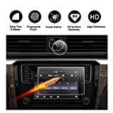 2017 2018 Volkswagen VW Passat 6.33'' Composition Media & 39mm Watch Touch Screen Car Display Navigation Screen Protector, R RUIYA HD Clear TEMPERED GLASS Protective Film