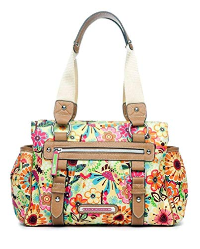 Lily Bloom Landon Triple Section Satchel, Busy Bee, Eco ()