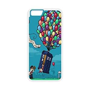Custom High Quality WUCHAOGUI Phone case Doctor Who - Police Box Pattern Protective Case For Apple Iphone 6,4.7