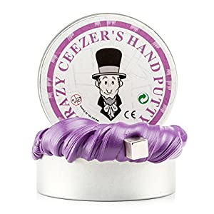 Magnetic Putty Making Kit Slime,Stress Reliever Fun Toy For Kids And Adults Education Toys Clay(Purple)