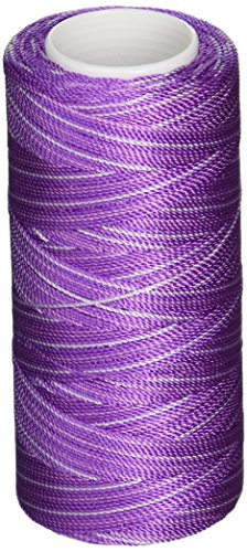 Iris Nylon Crochet Thread, 300-Yard, Purples Print