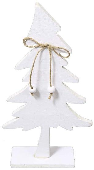Weihnachtsbaum aus holz weiss
