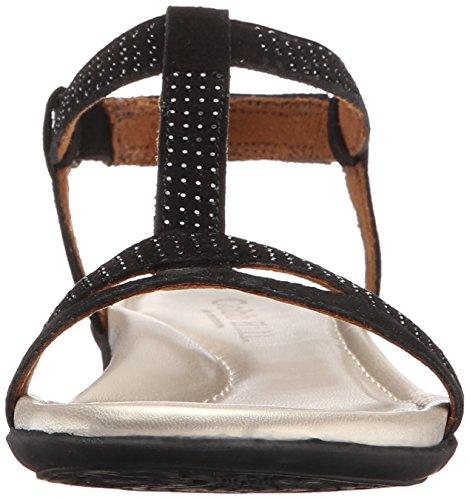 Cobb Hill Rockport Femme Julie-ch Sandale Plate Noir