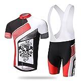Weelly Man Boy Short Sleeve Cycling Jersey Jacket Pant Set Summer