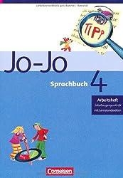 Jo-Jo Sprachbuch - Ausgabe C: 4. Schuljahr - Arbeitsheft in Schulausgangsschrift: Mit Lernstandsseiten