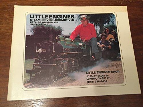 - Little Engines - Steam Driven Locomotives - Catalog Number 100