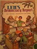 Len's Democracy Report, Harcourt School Publishers Staff, 0153234652