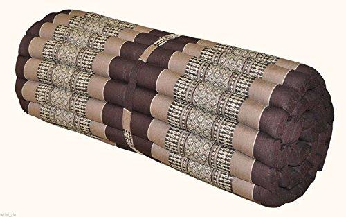 Noinoi@roll up Thai Mattress Kapok (Large, Brown) by NOINOI