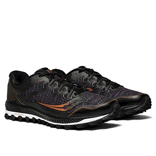 Les Hommes Saucony Peregrine 8 Chaussures De Fitness Noir (blk / Den / Copa 30)