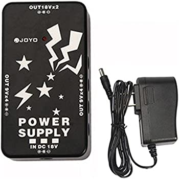 joyo jp 01 power supply for 10 guitar effect pedals separate outputs for 10 pedals. Black Bedroom Furniture Sets. Home Design Ideas
