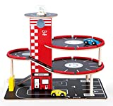Best HaPe Toys For 2 Year Old Boy Woodens - Hape Garage Play Set Toddler Wooden Play Vehicle Review