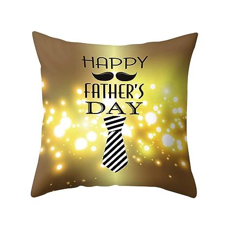 VECDY Funda De Cojín Moda Feliz Día del Padre Sofá Cama ...