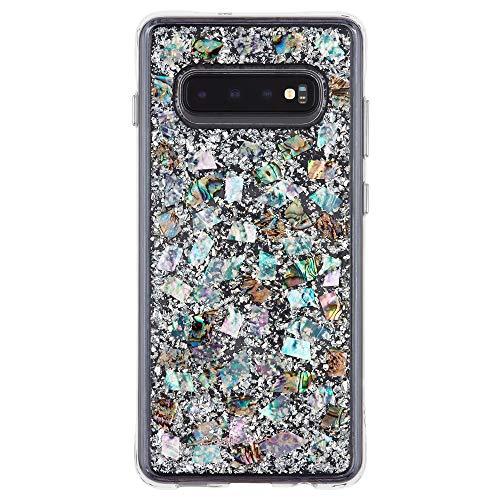Case-Mate - Karat - Samsung Galaxy S10+ Genuine Mother of Pearl Case - Mother of Pearl
