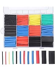 750 Pcs Heat Shrink Tubing Assortment, Preciva Assortment 2: 1 Heat Shrink Tubing Sleeving Waterproof
