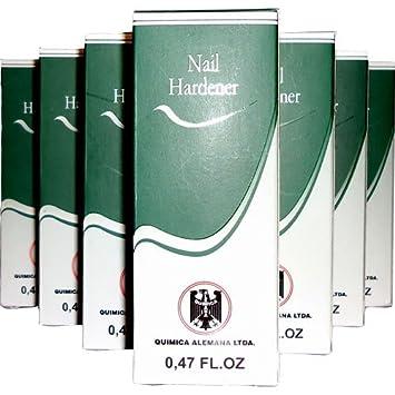 Quimica Alemana Nail Hardener 7pcs x 0.47oz Big Sale
