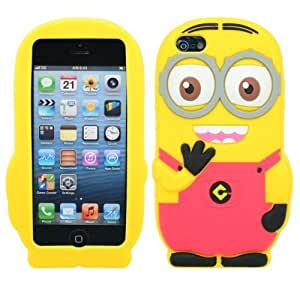 COVER FOR APPLE IPHONE 5 & 5S DESPICABLE ME MINIONS by ruishername