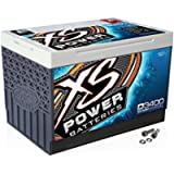 XS Power D3400 XS Series 12V 3,300 Amp AGM High Output Battery with M6 Terminal Bolt