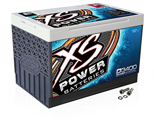 XS Power D3400 XS Series 12V 3,300 Amp Battery
