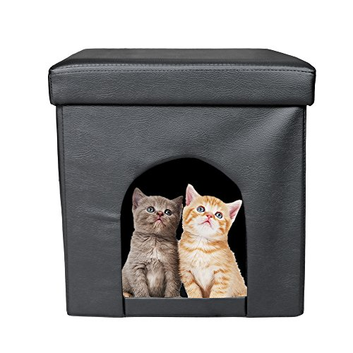 rusee-foldable-storage-pet-ottoman-cube-bed-house-sleep-area-padded-foot-rest-for-cats-and-small-dog