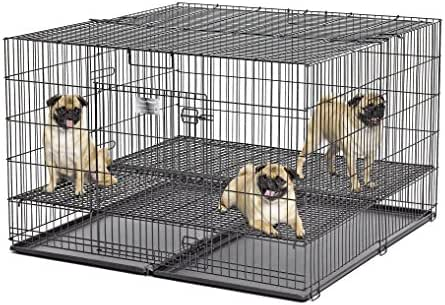 Midwest Homes Puppy Playpen Crate - 248-10 Grid & Pan Included