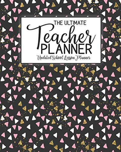 The Ultimate Teacher Planner Undated School Lesson Planner: Halloween Kids | School Education Academic Planner | Teacher Record Book | Class Student ... Report Action Plan | Organizer Gift Floral
