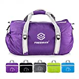 Small Sports Duffel Gym bag for Men Women Kids,Lightweight Waterproof with Pockets