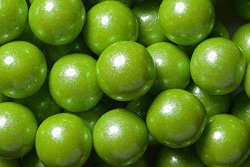 - Sweetworks Gumball Shimmer, Lime Green, 2 Pound