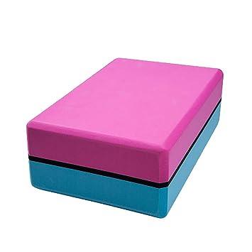 ZHOUBA Doble Color Espuma EVA Yoga Block Brick Ejercicio ...