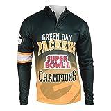 NFL Green Bay Packers Super Bowl II Champions Hoody Tee, Large