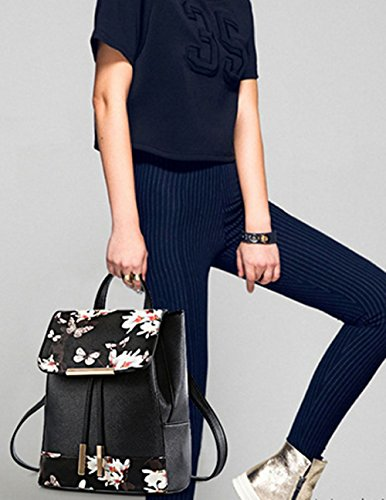 à à Imperméable Fashion KYOKIM Cuir Onces En oz Dos Mode Belle Ms Sac College 32 PU Blackfeathers Vent L'eau42 q1Owc1Av
