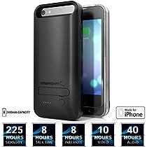 Sabrent 2400mAh MFI Apple Certified Premium-nachladbare ausgedehnte Batterie-Kasten für iPhone 5s, 5 (PB-IPH5)